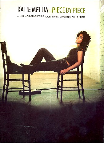 Katie Melua: Piece by Piece Songbook piano/vocal/guitar