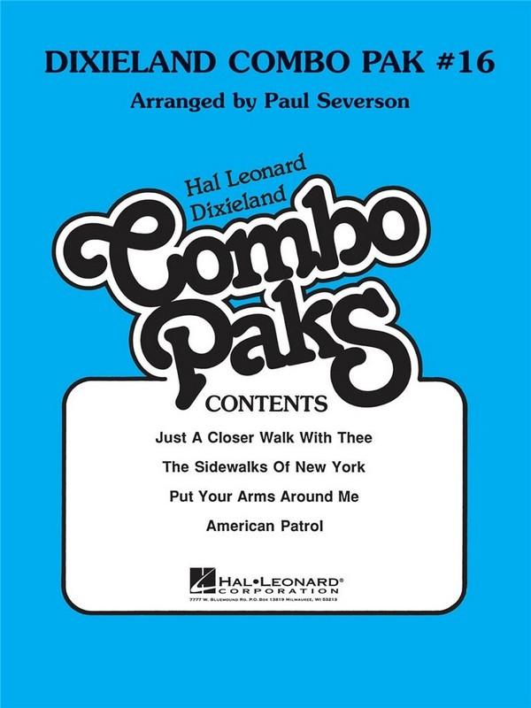 Dixiland Combo Pak vol.16 (+MC): for combo