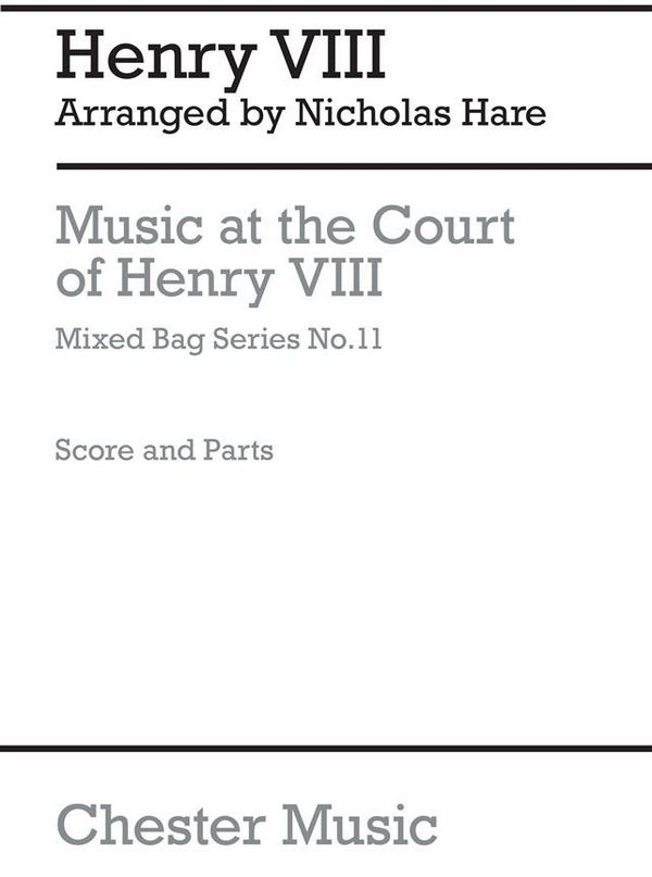 Music at the Court of Henry VIII: for woodwinds
