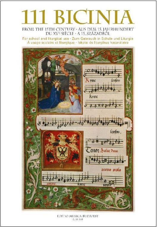 111 Bicinia aus dem 15. Jahrhundert: für Chor zum Gebrauch in Schulen und