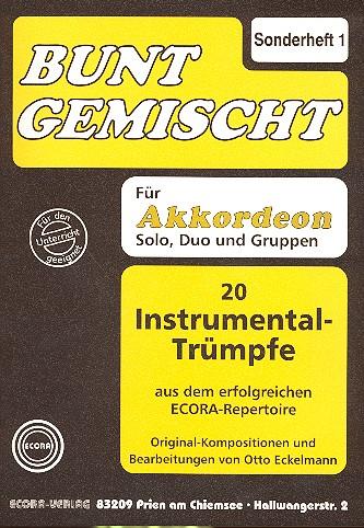 Bunt gemischt Sonderheft: 20 Instrumentaltrümpfe
