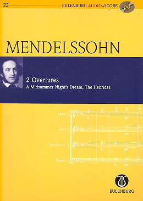 2 Ouverturen (+CD): für Orchester Studienpartitur