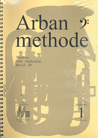 Arban, Jean Baptiste - Arban Methode vol.1-3 : for trombone,
