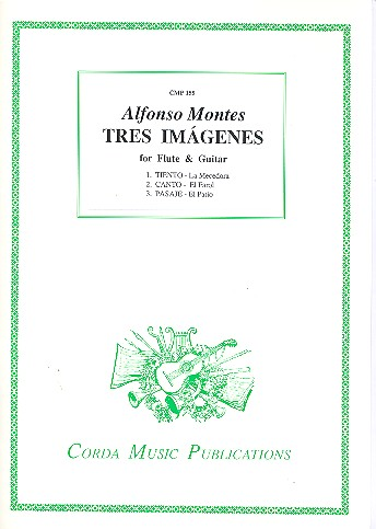 Tres Imágenes: for flute and guitar