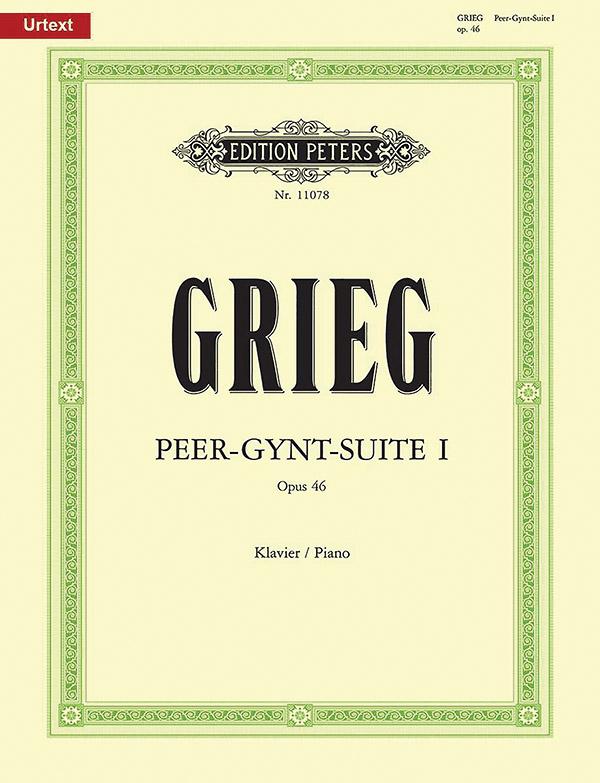 Grieg, Edvard Hagerup - Peer-Gynt-Suite Nr.1 op.46 :