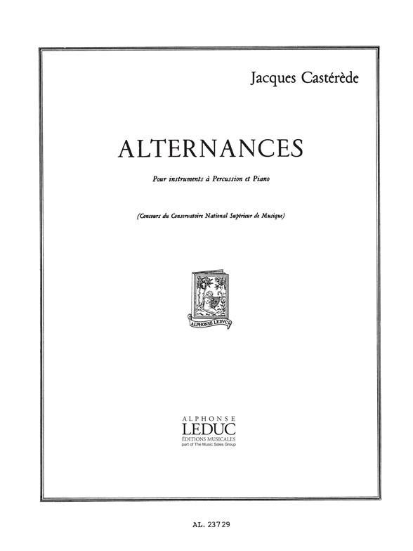 Alternances: pour instruments a percussion et piano