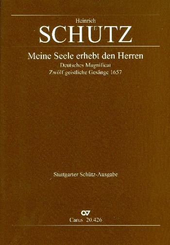 Schütz, Heinrich - Meine Seele erhebt den Herren op.13,7