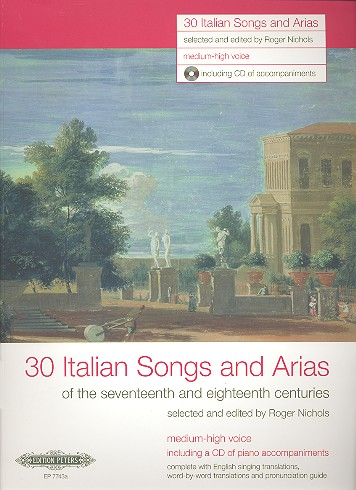 - 30 Italian Songs and Arias of the 17th