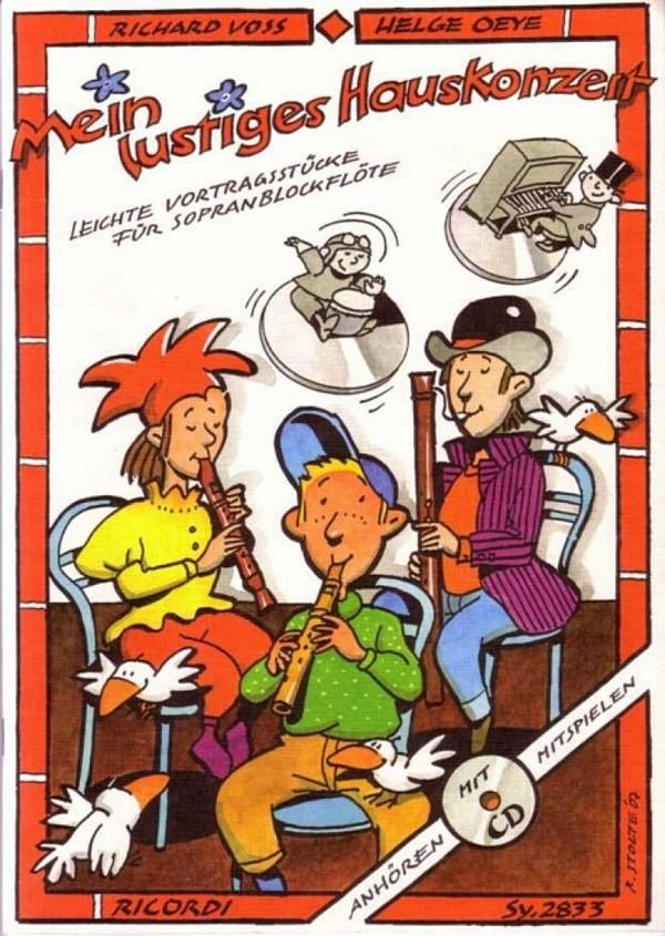 Voss, Richard - Mein lustiges Hauskonzert (+CD) :