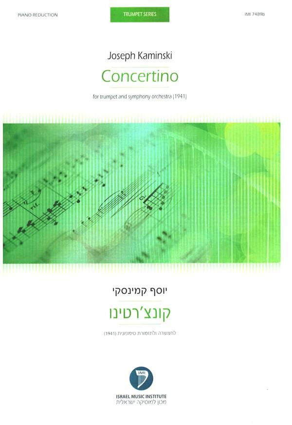 Concertino für Trompete und Orchester: für Trompete und Klavier