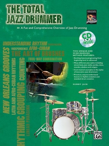 The total Jazz Drummer (+CD)