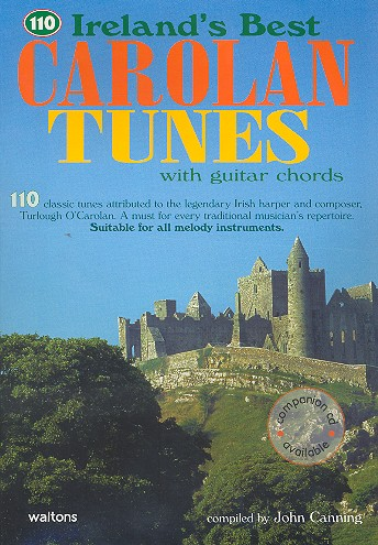 110 Irelands best Carolan Tunes with guitar chords