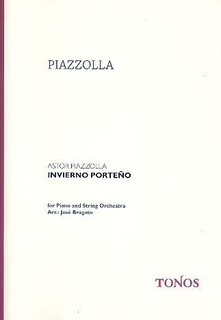 Piazzolla, Astor - Invierno Porteno : für Klavier und