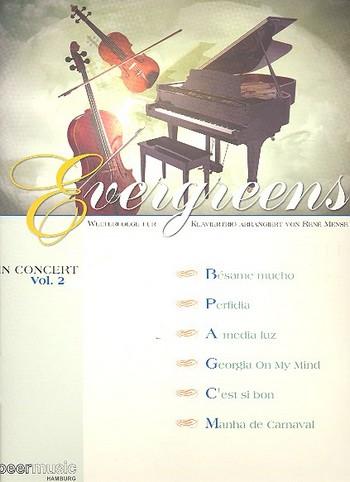 - Evergreens in Concert Band 2 : für Violine,