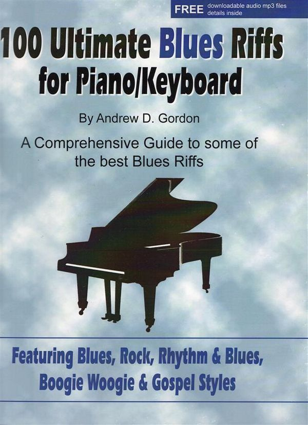 100 ultimate Blues Riffs (+CD): for Piano/(keyboard)