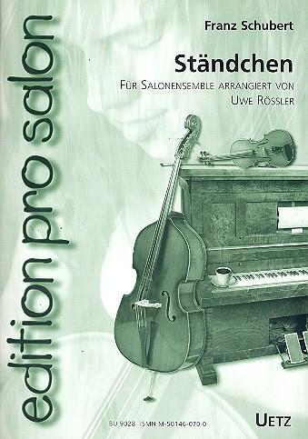 Schubert, Franz - Ständchen : für Vl, Vc und Klav,