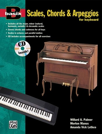 Basix Scales and Arpeggios (+CD): for keyboard