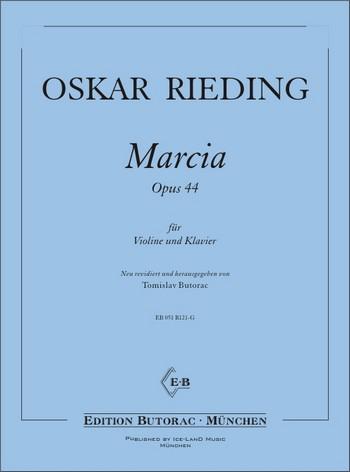 Marcia op.44: für Violine und Klavier