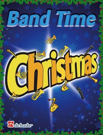 Band Time Christmas: für Blasorchester Horn in F