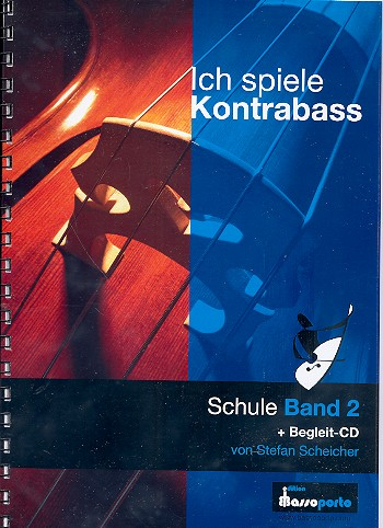 Ich spiele Kontrabaß Band 2 (+CD) (inkl. Klavierbegleitung)