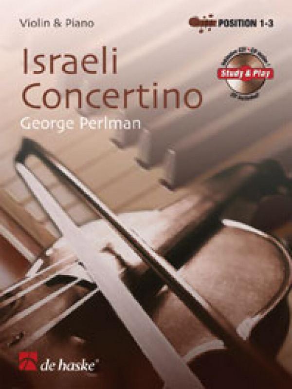 Perlman, George - Israeli Concerto (+CD) : für Violine und Klavier
