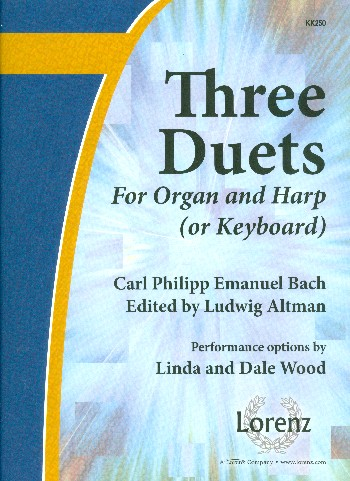3 Duets: for organ and harp or keyboard
