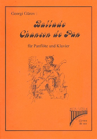 Ballade und Chanson de Pan (+CD): für Panflöte und Klavier