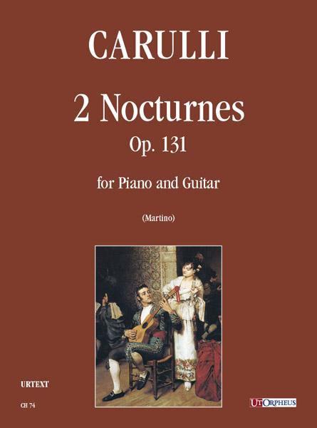 2 Notturni opus.131: per pianoforte e chitarra