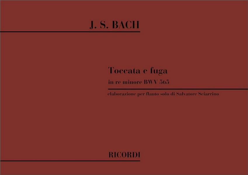 Bach, Johann Sebastian - Toccata und Fuge d-Moll BWV565 :