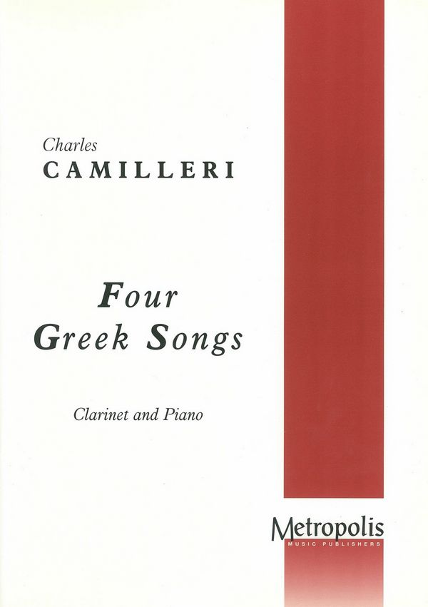 4 Greek Songs: for clarinet and piano (1951/77)