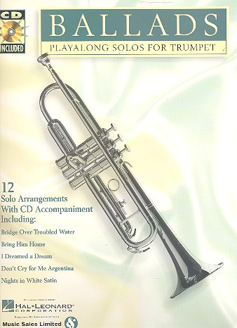 Ballads (+CD): Playalong solos for trumpet