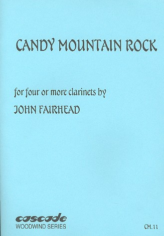 Candy Mountain Rock: for 4 clarinets (ensemble)