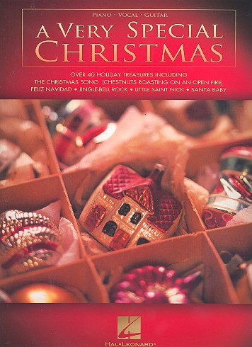 A very special Christmas: songbook for piano/vocal/guitar