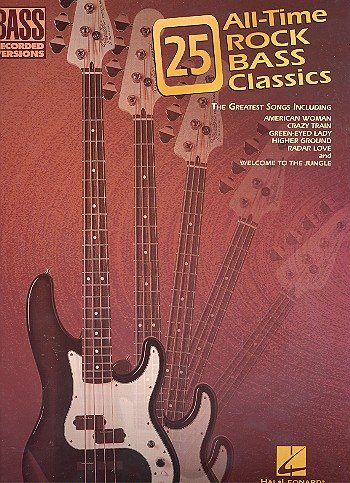 25 All-Time Rock Bass Classics: the greatest songs for bass with