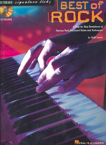 Best of Rock (+CD): for keyboard Keyboard Signature Licks