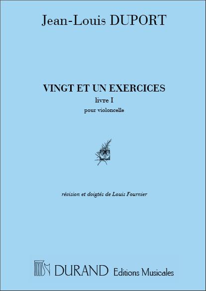 21 Exercices vol.1 (nos.1-13): pour violoncelle