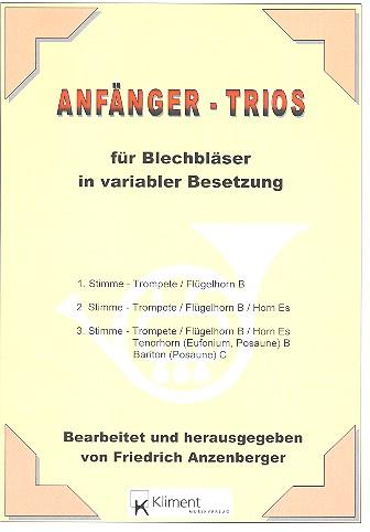 Anfänger-Trios für Blechbläser in variabler Besetzung