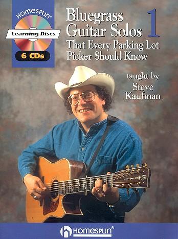 Bluegrass Guitar Solos (+ 6 CD\