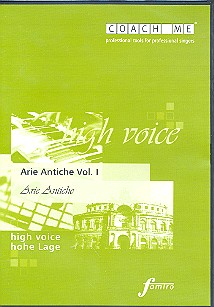 Arie Antiche Band 1: Playalong-CD für hohe Stimme
