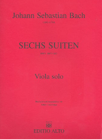 6 Suiten BWV1007-1012: für Viola solo