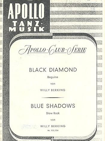 Blue Shadows und Black Diamond: für Salonorchester