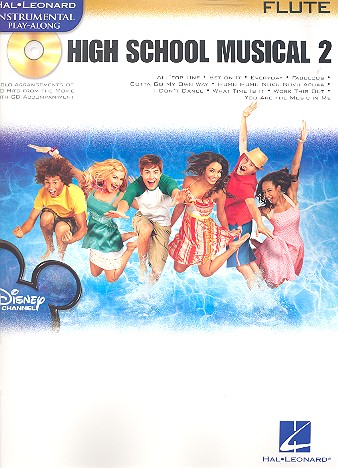 High School Musical vol.2 (+CD): for flute