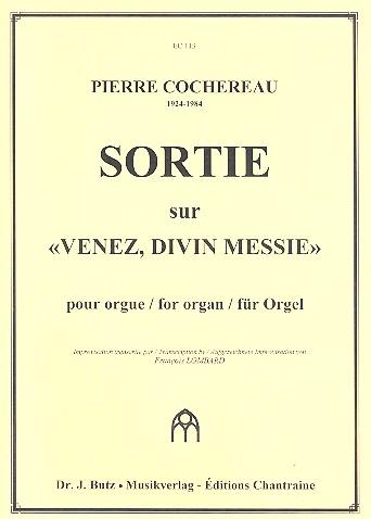 Sortie sur Venez divin Messie: pour orgue