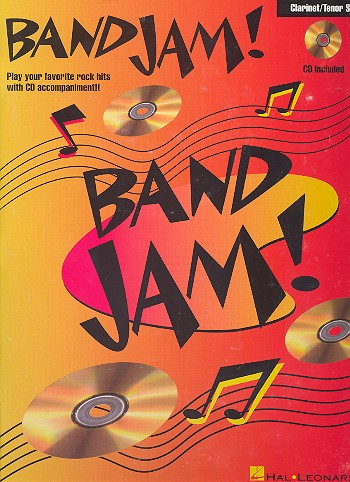 Band Jam (+CD): for clarinet (tenor sax)