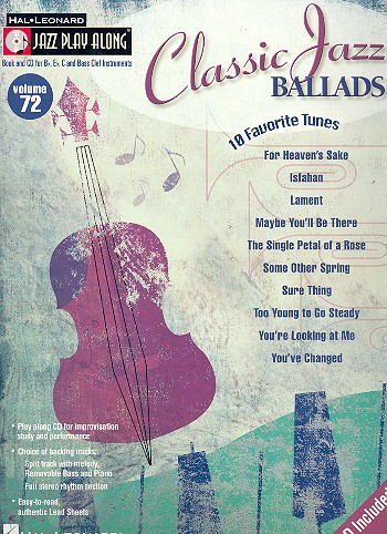 Classic Jazz Ballads (+CD): 10 favorite tunes for all instruments