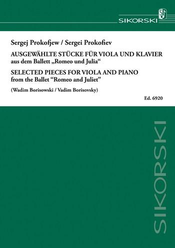 Prokofieff, Serge - 8 Stücke aus Romeo und Julia :