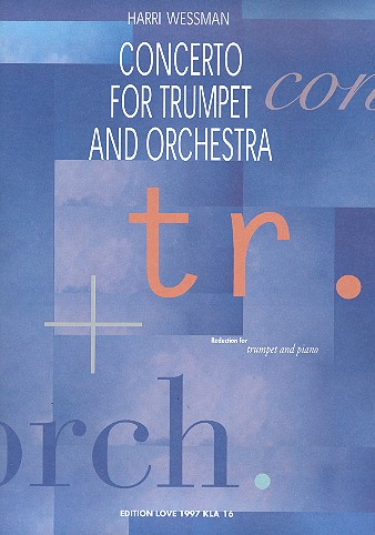 Concerto for trumpet and orchestra: for trumpet and piano