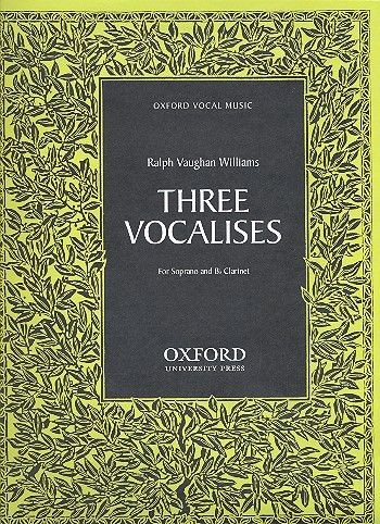 3 Vocalises: for soprano and clarinet