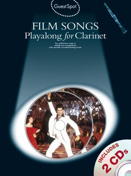Film Songs (+CD): for clarinet Guest Spot Playalong