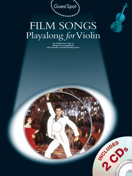Film Songs (+CD): for violin Guest Spot Playalong